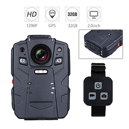 HD 1296 P Polizei Strafverfolgung Audio Video Recorder Mini Nachtsicht 140 Grad Körper Kamera IP68 wasserdichte Unterstützung Video/Audio Aufnahme - Polizei-videorecorder