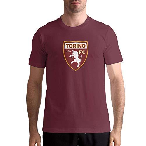 Torino FC Italia Calcio Fútbol Mans Moda tee Athletic,M