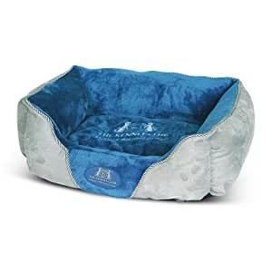 The Kennel Club Soft Walled Dog Bed, Small, Blue