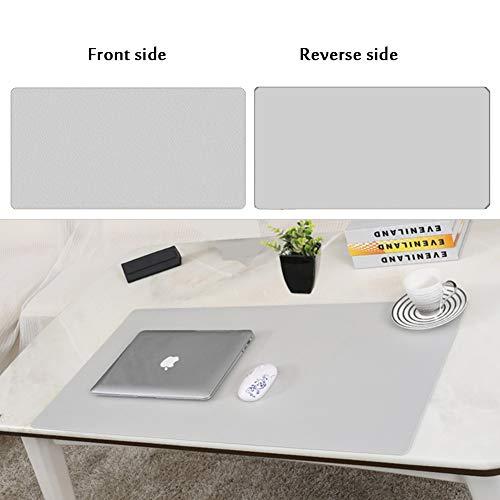 JiaQi Office Tischmatte Leder Mauspad,Premium Leder Computer Mousepad,Ultra Dünne Spiele Tastatur Pad Matte Für Büro Und Zu Hause-z 70x35cm(28x14inch) (Tastatur-handgelenkauflage 14 Zoll)