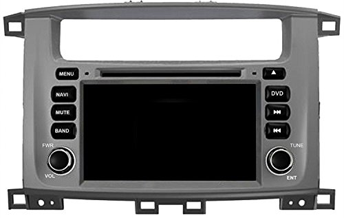 Gowe Android GPS Navigatin 17,8cm Auto DVD-Player für Toyota Land Cruiser 100mit Bluetooth/RDS/ATV/3G/WIFI/iPod/SWC/Canbus/Mirrorlink Toyota Ipod