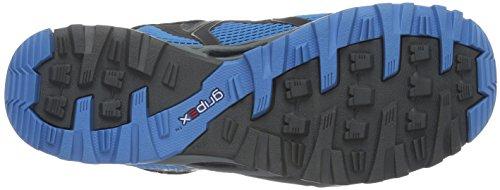 Mammut Comfort Low Surround, Chaussures de Randonnée Basses Homme Bleu (Graphite-Skyblue)