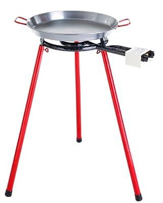 Paella World International Paella-Grill-Set Light, groß, Mehrfarbig, 3-teilig