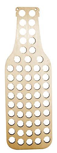 Vin Bouquet Fic 380 - Botella colector de chapas Madera, Ideal para de