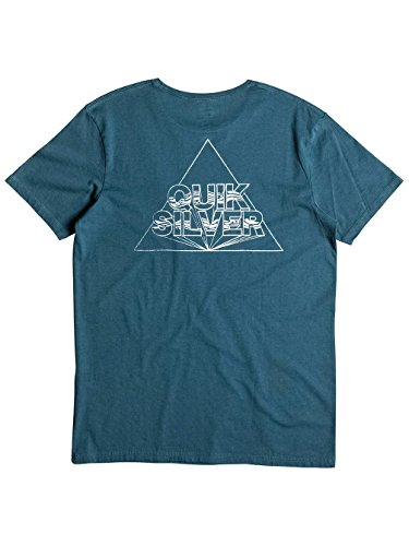 Herren T-Shirt Quiksilver Garment Dye Solstice T-Shirt Indian Teal