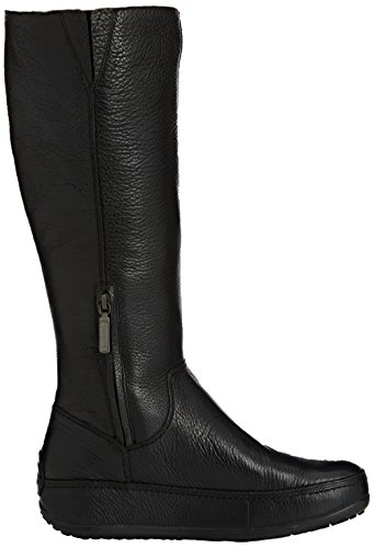 FitFlopSuperboot (Leather) - Stivali Donna Nero (Noir (all Black))