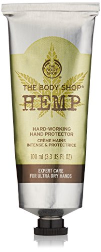 The Body Shop Hemp Hand Protector unisex, Hanf schützende Handcreme 100 ml, 1er Pack (1 x 100 ml)