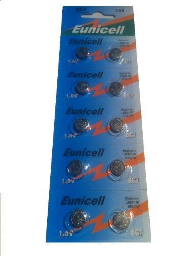 Eunicell marque piles alcalines 1,5 v type : aG7 lot de 10 [Camera]