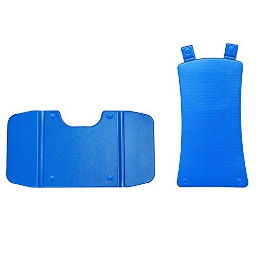 Comfortbezug Auflagenset für Badelift Bellavita und Bellavita 2G blau