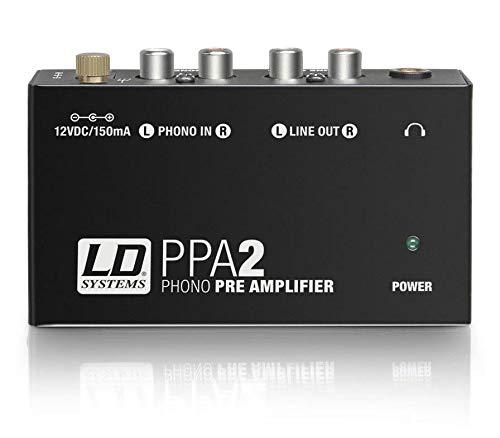 LD Systems ldppa2 ppa2preamplificatore/equalizzatore RIAA per giradischi