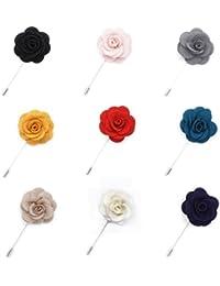 Handarbeit Marke Frau Hochzeit Blume Rose Brosche Flower Brooch Boutonnier