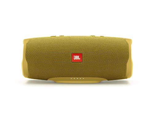 Oferta de JBL Charge 4 - Altavoz inalámbrico portátil con Bluetooth, parlante resistente al agua (IPX7), JBL Connect+, hasta 20 h de reproducción con sonido de alta fidelidad, amarillo