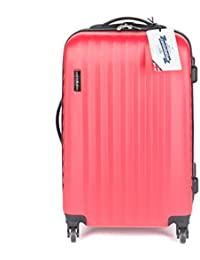 79fa15e53 Constellation LG00404MPINKSDMIL Eclipse 4 Wheel Suitcase, 24
