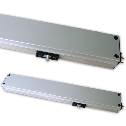 Fensteröffner Linea Micro XL - silbereloxiert - 230V~ /50Hz, Kippfenster