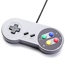JEINDEER SNES Classic USB Controller Gamepad for PC (Japan Import)