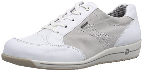 Ara Bern-surround, Chaussures Derby Avec Lacets Pour Femme Blanc (weiß (blanc, Cristal 06))