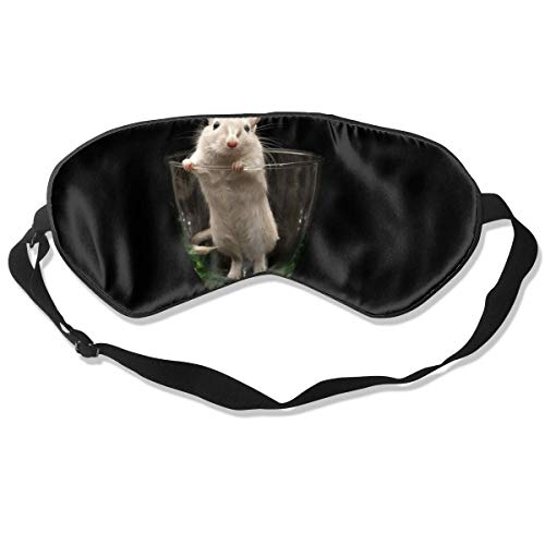 Custom Sleep Mask Mouse in Glass Pattern Comfortable Sleep Eyes Covers