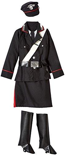 Unbekannt AEC-aq02268/L-Kostüm policiere Carabiniere Größe 9/11Jahre - Policiere Kostüm