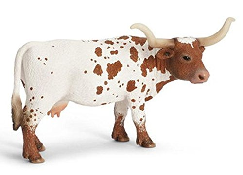Schleich 13685 -  Figura/ miniatura Texas Longhorn Cow
