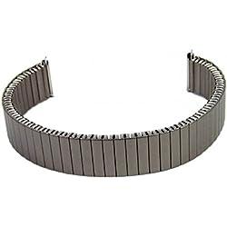 Eulit Flex Titanium Grey TITANIUM Strap Replacement Band 14mm-16mm 76422001