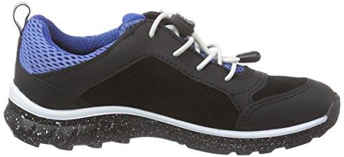 Ecco BIOM TRAIL Mädchen Sneakers Schwarz (BLACK/BLACK/COBALT 57789)