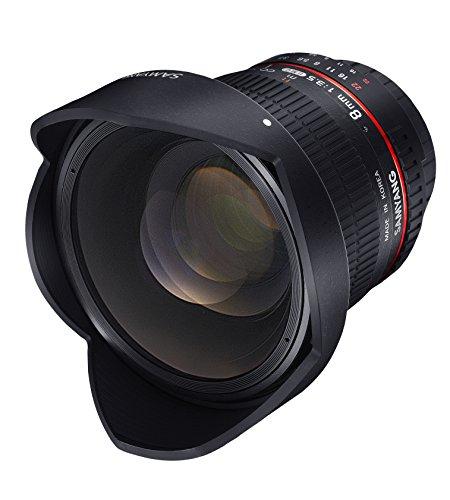 Samyang 8mm F3.5 CS II Objektiv für Nikon AE