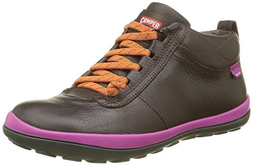 Camper Peu Pista, Stivaletti Donna, Marrone (Dark Brown 035), 38 EU