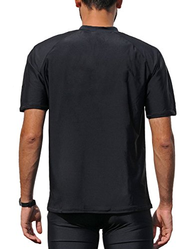 iQ-Company Herren T-Shirt UV-Schutz 300 Loose Fit Watersport 94 black