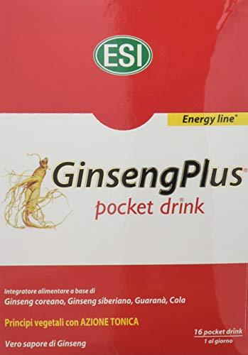 Esi Ginsengplus Integratore Alimentare - 16 Pocket Drink