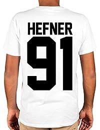 Ulterior Clothing Hugh Hefner 91 T-Shirt Playboy Heff Rip