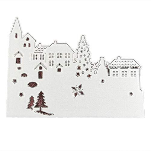 tahl stanzen sterben präge Schablone Form für DIY Weihnachten Kunst Handwerk Karte dekor ()