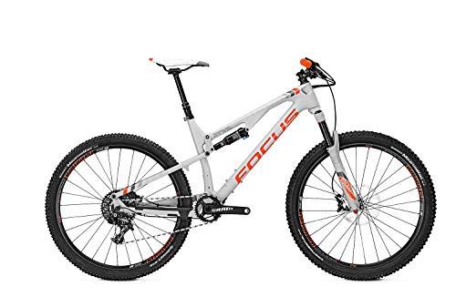 Mountainbike Focus Spine C Factory 11G SRAM X01 27,5', Rahmenhöhen:44;Farben:coolgreymatt