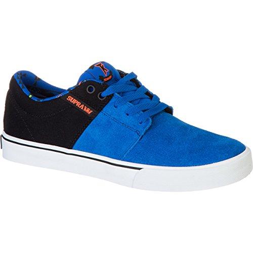 Shoes Supra Stacks Vulc Royal/Black/Neon Org–Wht Blau - blau