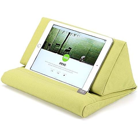 Almohada de Apoyo IPEVO PadPillow para todas las generaciones de iPad Air, iPad mini, iPad 4, iPad 3, iPad 2, iPad 1, Nexus y Galaxy - Verde
