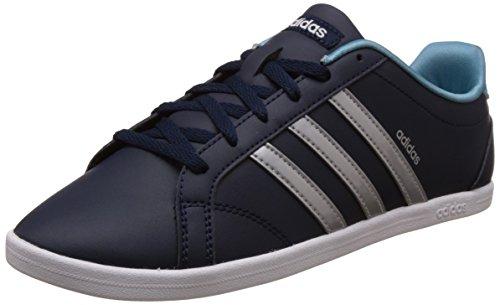 Adidas Damen Coneo QT Fitnessschuhe, Blau (Collegiate Navy/Matte Silver/Ftwr White), 36 2/3 EU (4 UK)