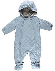 Fixoni Baby Kaputzenoverall Gefüttert, Traje de Esquí Para Bebés