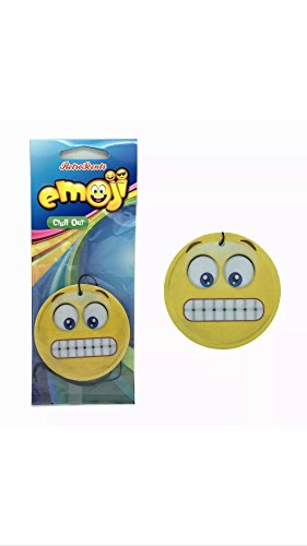 Emoji EM2D10Gritted Teeth Chill out Deodorante per Auto