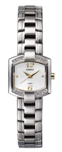 KIENZLE Classic Ladies Watch (Quartz, White Dial, Steel Strap) V81332120011