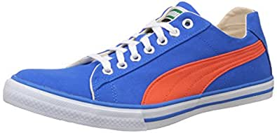 Puma Unisex Hip Hop 5 Idp Electric Blue Lemonade Sneakers - 10 UK/India (44.5 EU) (36368004)