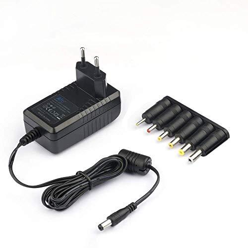 KFD Cargador 12V 220V Alimentador Adaptador Universal