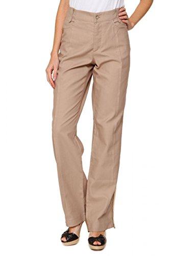 ermanno-scervino-pantalons-pantalon-kaelyn-femme-couleur-beige-taille-46