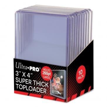 Ultra Pro 260pt Super Thick Top Loader - 10ct Pack - Top-loader