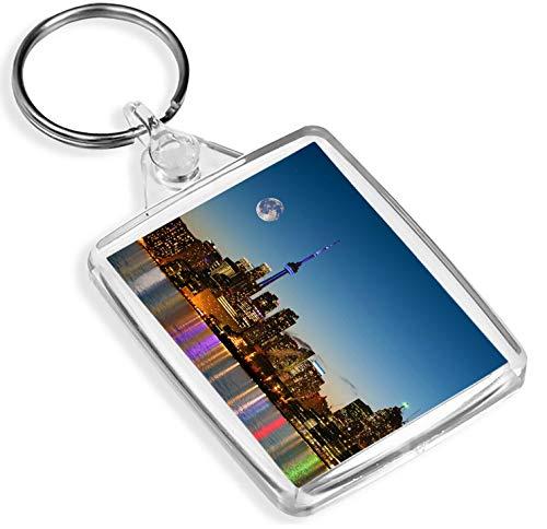 Schönes Toronto, Kanada Schlüsselanhänger - IP02 - See-Wasser-Stadt-Ansicht kühles Geschenk # 12750