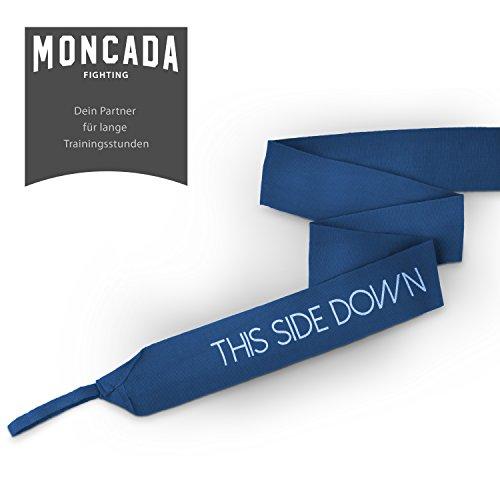 Boxbandagen mit Daumenschlaufe von Moncada Fighting ® (4m) Halb-Elastische Boxbandagen mit extra breitem Klettverschluss Abbildung 3