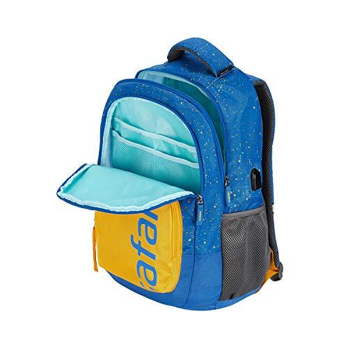 Best safari backpacks in India 2020 SAFARI 32 Ltrs Blue Casual Backpack (FRECKLEUSB19CBBLU) Image 6