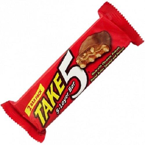 5 Bar Hershey-schokolade (Hershey's Take 5 Bar 1.5 oz, 6er Pack (6 x 42 g))