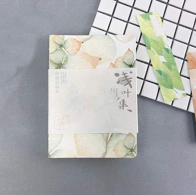 Dot Grid Blank Line Leaves Notebook Kreative Hardcover Gepunktete Kugel Journal Bujo Journal Studie Tagebuch Schreibwaren Geschenk, 128 Blank 32Dotted, A5