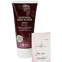 SANTE - Doccia Shampoo Linea Uomo con Aloe e Thè Bianco - Rifrescante ed Energizzante - Biologico Vegan Senza Glutine -