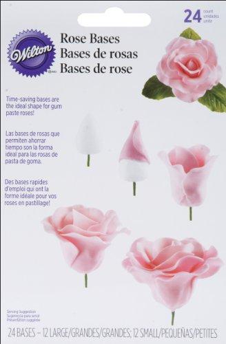 Wilton Unterlagen für Rosen aus Fondant, 24Stück -
