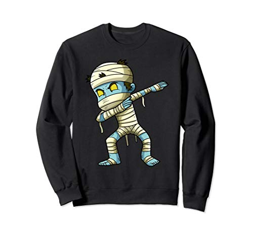 Kostüm Funny Halloween Girl - Dabbing Mummy Funny Halloween Boys Girls Kids Monster Sweatshirt